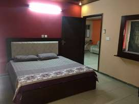Qj heights fully furnished  2 bed for rent in safari 1 bahria town