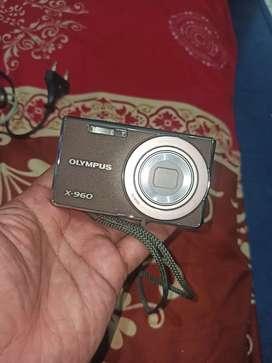 Dijual murah kamera digital Olympus X-960 14 megapixel