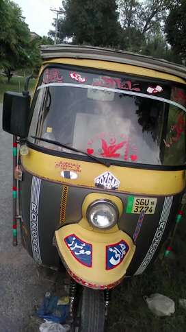 Rozgar rickshaw new condition