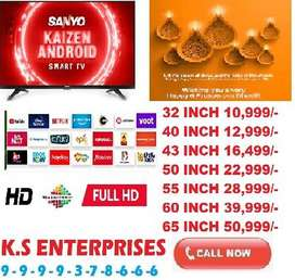diwali loot offer 50% sale 43 inch full smart full android led tv