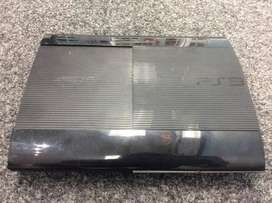 ps3 super slim gaming console with orignal controler and gamn dvds