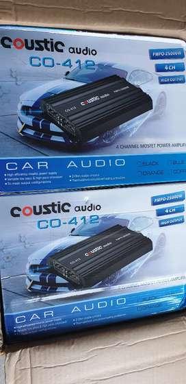 Power 4ch Coustic Audio Co412