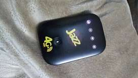 Jazz 4g wifi device unlocked with box all sims working