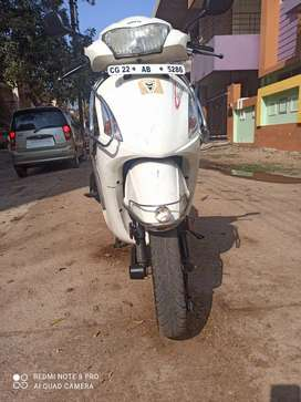 Pleasure scooty 2014 for sell 35000km