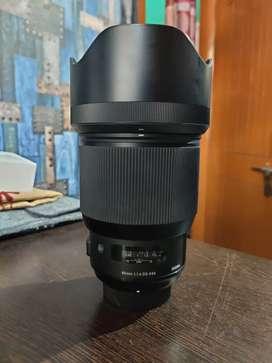 SIGMA Art 85mm F1.4