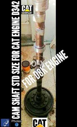 Cam Shaft Used STD SIZE CAT ENGINE D342 for D8K Available for sale