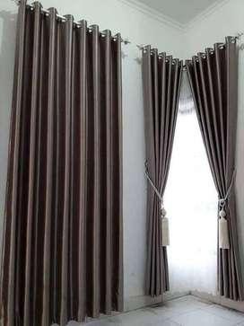 240 clasik model smokering gorden tirai wallpaper termurah