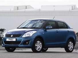Car rental sedan Dezire top model avaible for rent @9rs