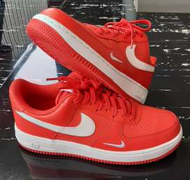 Nike Air Force 1 White and Red
