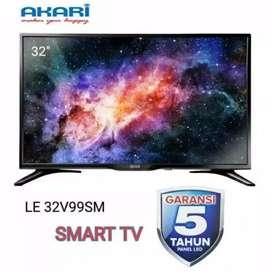 Tv led akari 32 inci (smart tv )