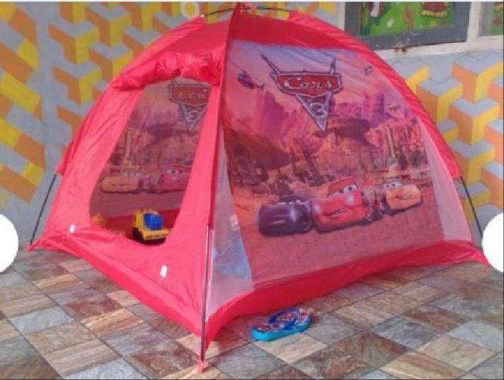 Tenda Anak Karakter - Tenda Bermain Anak - Rumah Mainan - motif cars