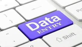 Need candidates for data entry operator# apply here
