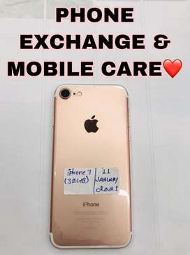 IPhone 7 (32GB) Rose Gold 7 Months Old Available
