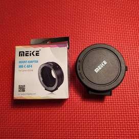 Adapter Autofokus Mirrorless Canon Meike
