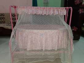 Cradle or jhoola for baby