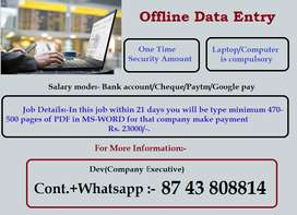 In transtech company want some typist for e-book typing. Call me for a