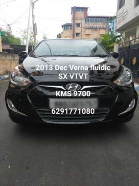 Hyundai Fluidic Verna 1.6 VTVT SX, 2013, Petrol