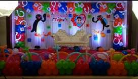 Ballon decorations/photography also