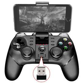 Wireless Bluetooth Gamepad Games - ZM-X6 - Black