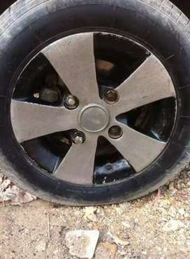 Alloy rims 12