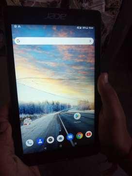 7'' inch Tablet acer 4G (Bill Date-16-07-2021) Duel Sim