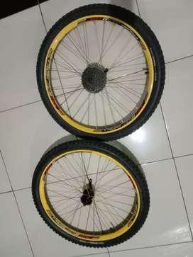 Wheelset Folker AM