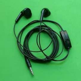 Headset samsung Asli bawaan hp samsung Galaxy M20/A50 Black