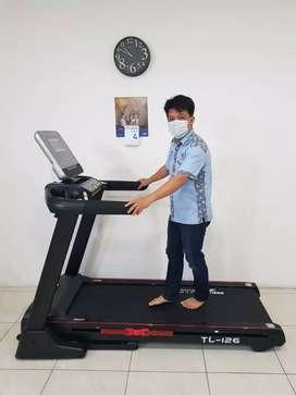 No ongkir big Power Treadmill elektrik 126