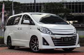 Toyota Alphard GS Premium Sound 2.4 2013 AT Matic Facelift!!!