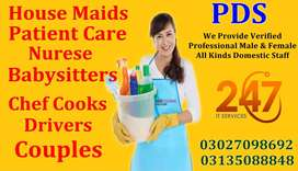 P D S: Provide Verified Professional All Kinds Domestic Staff