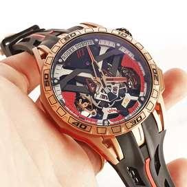 Jam Tangan Roger Dubuis Rose Gold Jam Merk Dunia Istimewa