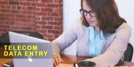 data entry job for banking process in delhi/ncr