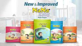NANA Baby Diapers are extra dry, super soft