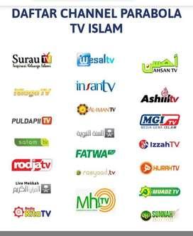 parabola islami pasang service area batang hari