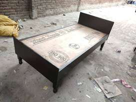 Brand new bed single 6fit by 3fit without box