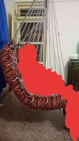 Zulla with cushion.