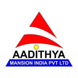 URGENTLY WANT A LADY RECEPTIONIST FOR AADITHYA  BUILDERS