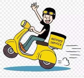 Delivery boy in halwani