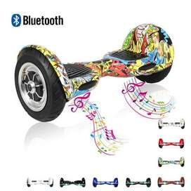 Hoverboard with self balancing wheel and bluetooth speaker