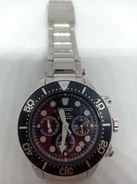jam tangan seiko chronograph baterei
