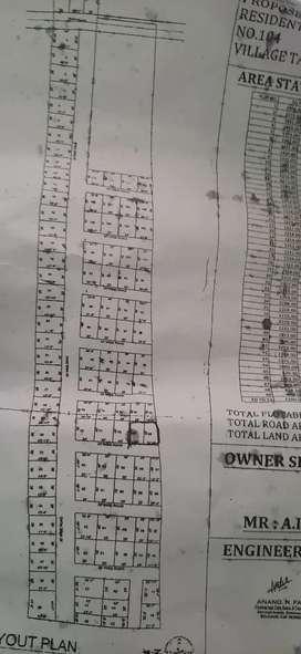 2 plots for sale at balekundri