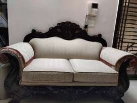 2 seater sofa Solid wood(need to sell immediately
