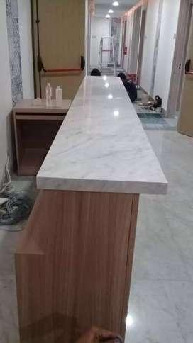 Top table meja maer dan granit