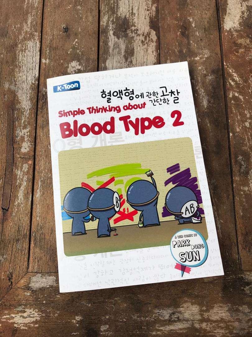 buku blood type 2 0