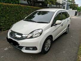 Honda Mobilio E 2014 / 2015 AT Putih Low KM Like New