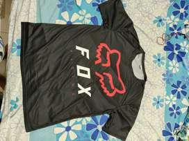 Kaos Jersey Fox MTB Motorcross Lengan Pendek