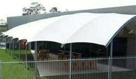 Jasa pasang canopy membrane harga murah permeter