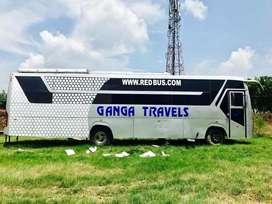 Tata sleeper bus 2*1