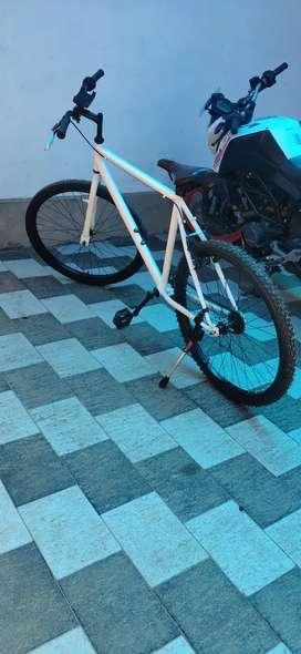 Hybrid cycle btwin mybike..