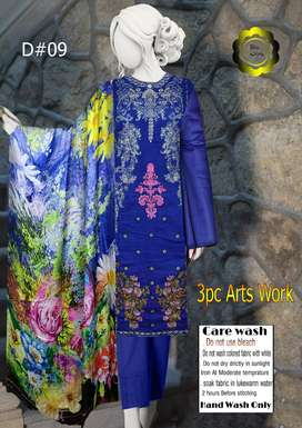 3PC SUITS WITH DIGITAL PESHMINA SHAWL
